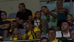 Антон Зингаревич гледа на живо Ботев - Левски