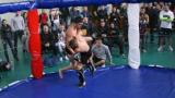 Атрактивни битки и куп емоции на националното първенство по комбат рестлинг в София