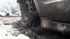 Още две коли изгоряха в село Галиче