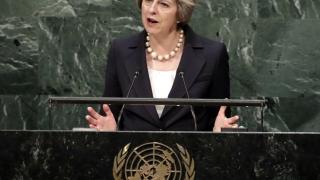 Великобритания остава глобален играч и след Брекзита, заяви Тереза Мей
