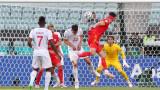 Уелс - Швейцария 1:1 (Развой на срещата по минути)
