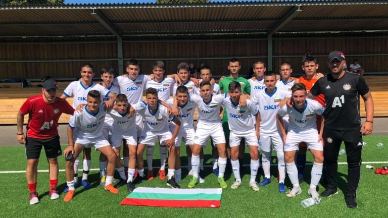 Юношите на ЦСКА смениха синьото с бяло и разбиха Бубамара от Загреб