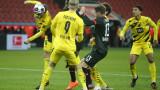 Байер (Леверкузен) - Борусия (Дортмунд) 1:0, гол на Муса Диаби