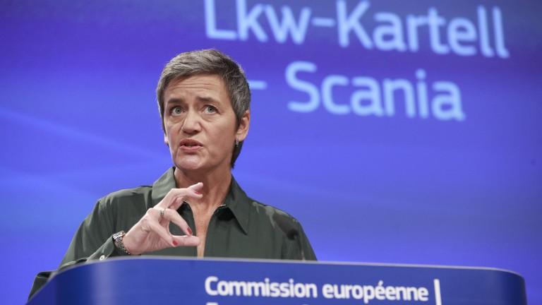 """ЕК глоби """"Скания"""" с близо €1 млрд."""