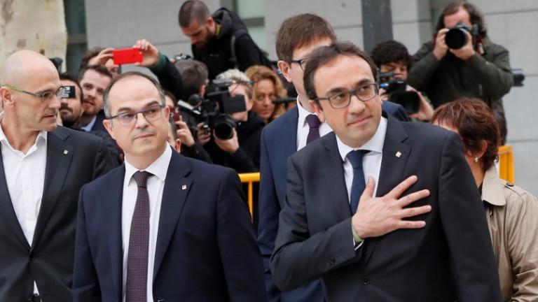 Арестувани каталунски политици приемат прякото управление на Мадрид