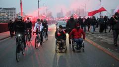 Над 300 арестувани след крайнодесни сблъсъци във Варшава