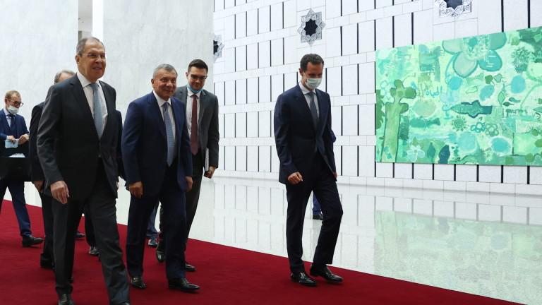 Сирийският президент Башар Асад обяви, че иска да разшири икономическите