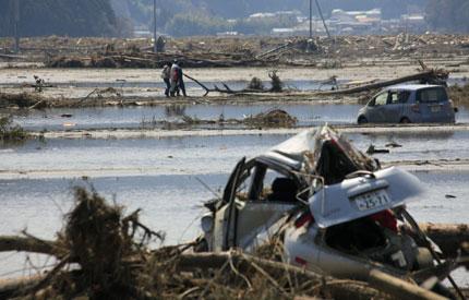 Мощно земетресение в Япония