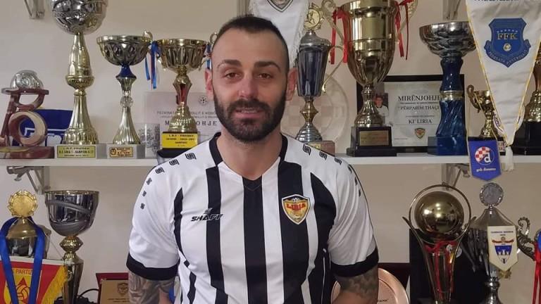 Бившият футболист на Славия, Монтана и Дунав - Борислав Балджийски