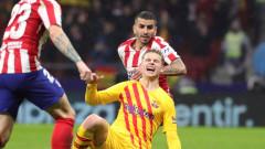Барселона с информация за травмата на Де Йонг