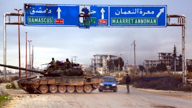 Турция изпраща спецчасти към  наблюдателни пунктове в Идлиб