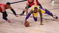 Лос Анджелис Лейкърс се наложи над Хюстън Рокетс и води с 3-1 победи в серията