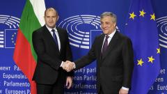 Сигурността на европейските граждани обсъдиха Радев и Таяни