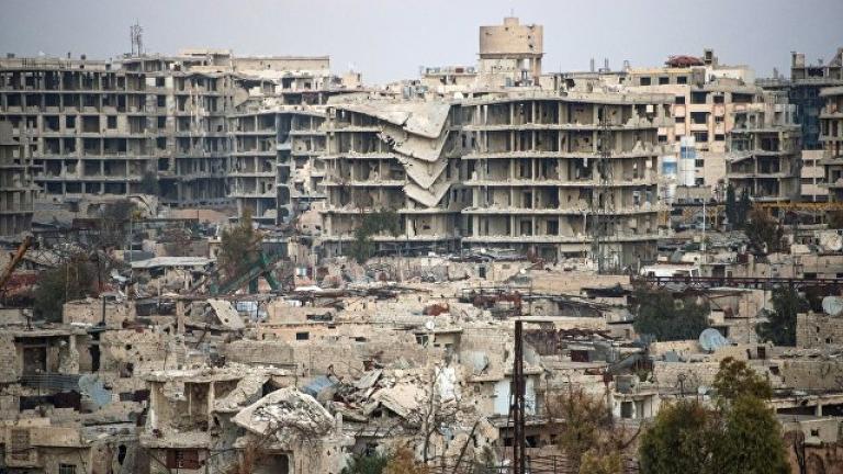 Договориха временно прекратяване на огъня край Дамаск