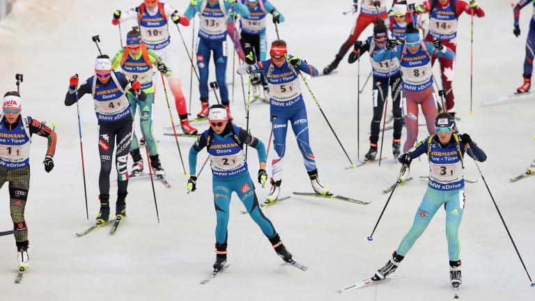 Норвегия грабна първия златен медал на Световното по биатлон в Йостерзунд