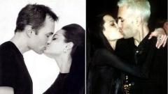 Мъжете, с които се целува Анджелина Джоли (СНИМКИ)