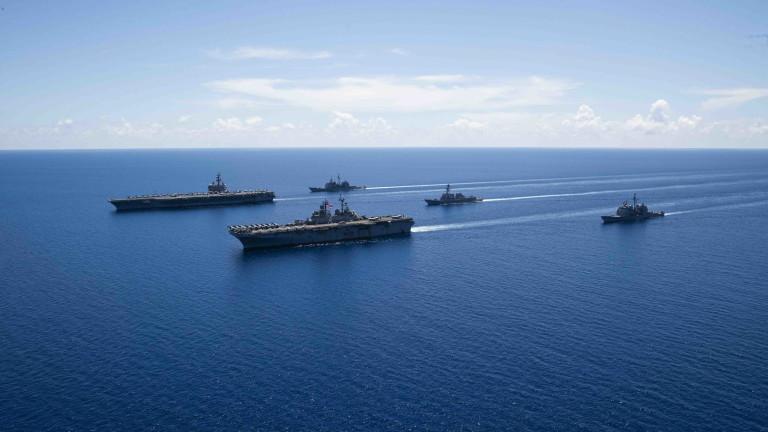 ВМС на САЩ заемат по-агресивна позиция към Китай и Русия