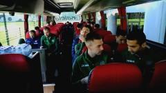 Футболните национали са вече в Любляна