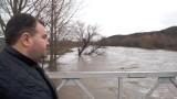 Река Скът наводни дворове и мазета в община Мизия