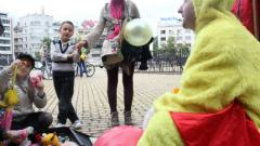 Бащи протестират за защита на детските права