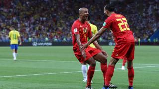 """Футболният свят вече се съобразява с Белгия, """"червените дяволи"""" пратиха Бразилия у дома и са 1/2-финалисти на Мондиал 2018!"""