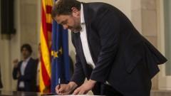 Испания не дала избор на Каталуния
