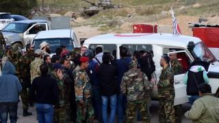 Евакуация на ислямисти от Източна Гута