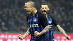 "Интер се справя и без Икарди, ""нерадзурите"" с важен успех срещу Сампдория"