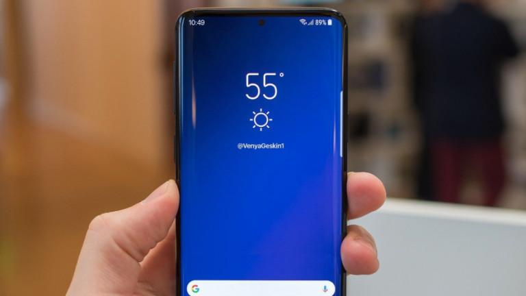 Това ли ще е лицето на Samsung Galaxy S10