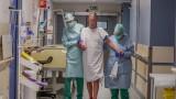 Най-малък брой COVID-19 пациенти от началото на блокадата в Белгия
