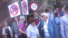 Гласувайте против ратификацията на ТПТИ и СЕТА, зоват граждани
