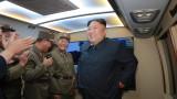 Ким Чен-ун: Новите ракетни изпитания са предупреждение към САЩ и Южна Корея