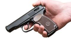 Газов пистолет бил извадил арестуваният 47-годишен мъж