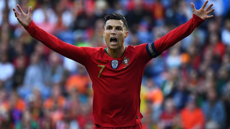 Звездата на Ювентус и Португалия - Кристиано Роналдо сподели мнението