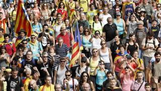 Обща стачка парализира Каталуния