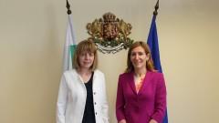 Ангелкова и Фандъкова съвместно развиват туризма