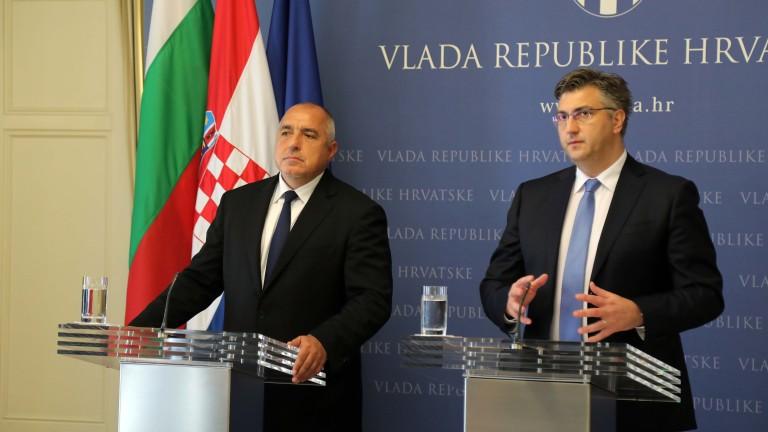 Министър-председателят Бойко Борисов днес е на посещение в Хърватия. Пристигайки