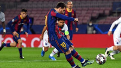 Лионел Меси с голове в 17 поредни сезона на Шампионската лига