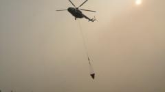 Русия прати военни хеликоптери и самолети за борба с пожари в Сибир