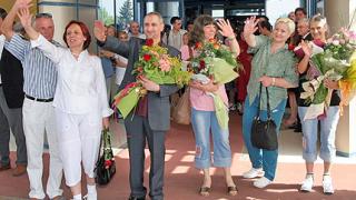Еврокомисар Луи Мишел се срещна с българските медици