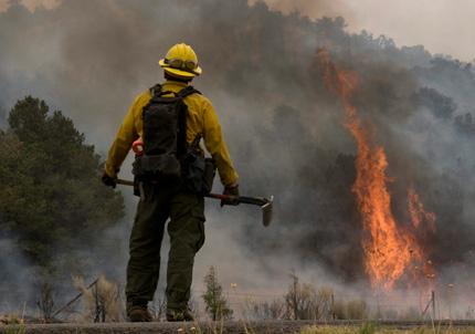 Пожари заплашват ядрена лаборатория в САЩ