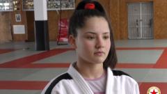 Габриела Димитрова е републиканска шампионка по джудо
