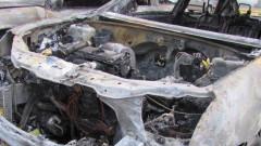 10 коли изгоряха на паркинг в столичния квартал Люлин
