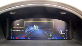Toyota Crown със система за нощно виждане