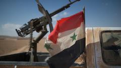 Водената от САЩ коалиция с въздушен десант в сирийската провинция Ракка