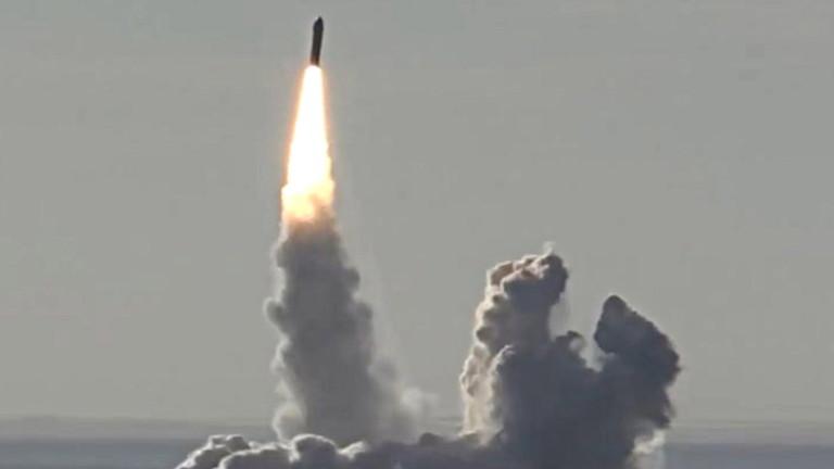 Русия пусна видео от изпитание на нова ПРО ракета