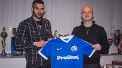 Крум Стоянов вече не е футболист на Ботев (Пд), подписа с Динамо (Минск)