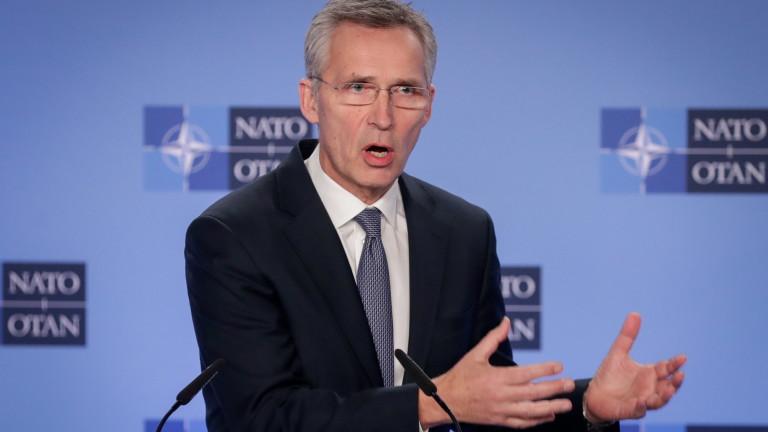 Генералният секретар на НАТО Йенс Столтенберг поздрави българските военни