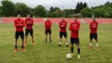 ЦСКА тренира на групи