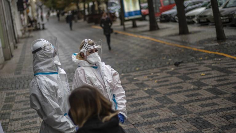 В Прага армията гради полева болница заради коронавируса